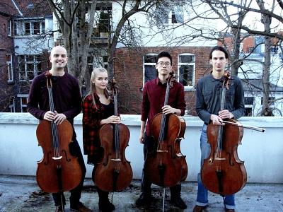 """Wiederhören mit dem Cello-Quartett """"Mirage"""""""